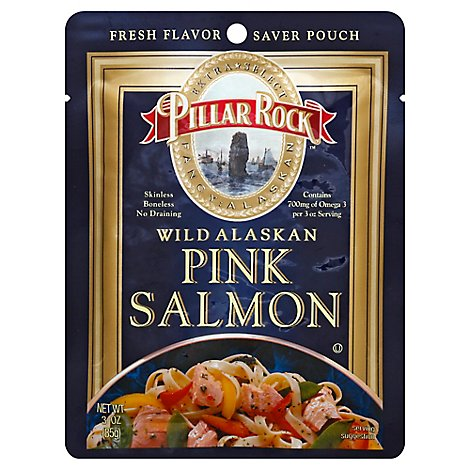 Pillar Rock Pink Salmon - 3 Oz