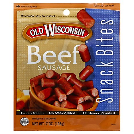 Old Wisconsin Beef Snack Bites - 7 Oz
