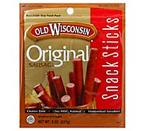 Old Wisconsin Original Snack Sticks - 8 Oz