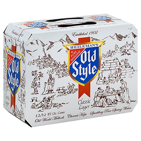 Old Style Premium Cans - 6 -12 Fl. Oz.