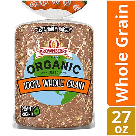Brownberry Organic Bread 100% Whole Grain - 27 Oz