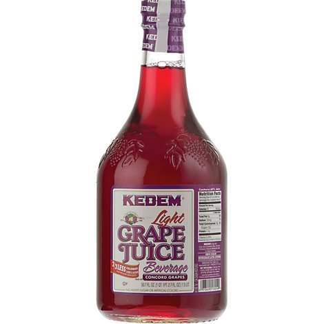 Kedem Beverage Light Grape Juice - 50.7 Oz