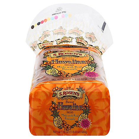 S.Rosens Sweet Hawaiian Bread - 24 Oz