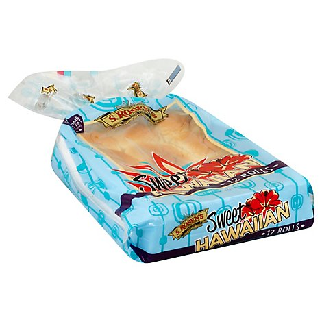 Rosen Rolls Dinner Hawaiian - 12 Oz