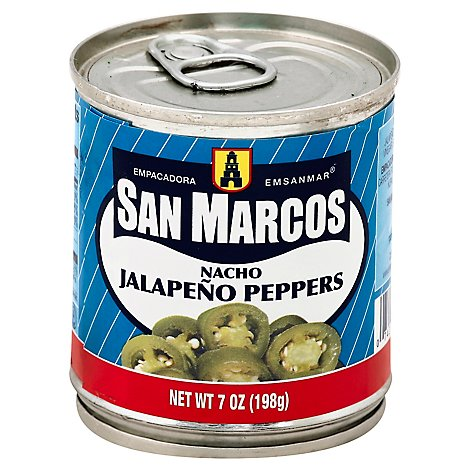San Marcos Peppers Jalapeno Nacho - 7 Oz