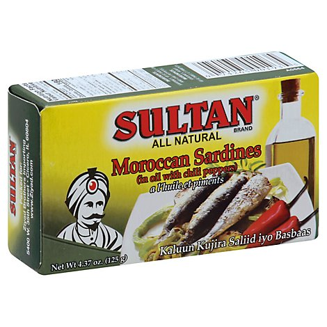 Sultan Sardine Hot Sauce - 4.37 Oz