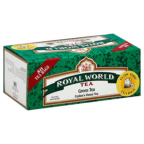Royal World Green Tea - 50 Oz