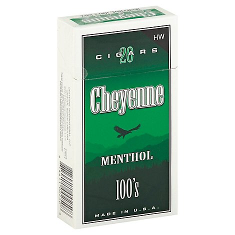 Cheyenne Cigar Weight Heavy Menthol - Each