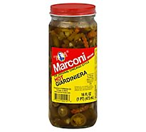 Marconi Hot Giardiniera - 16 Oz