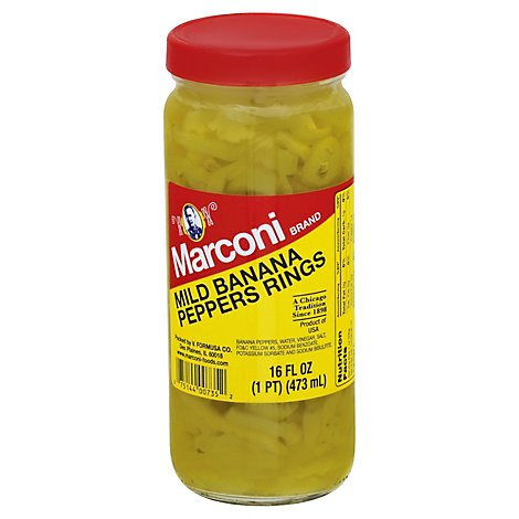 Marconi Banana Pepper M - 16 Oz