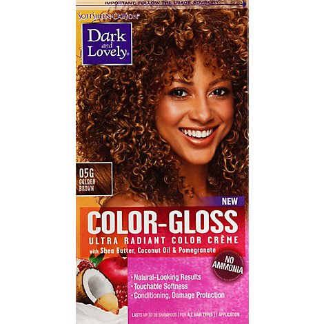 D&L Hair Color Gloss Gld Brwn - 1 Each