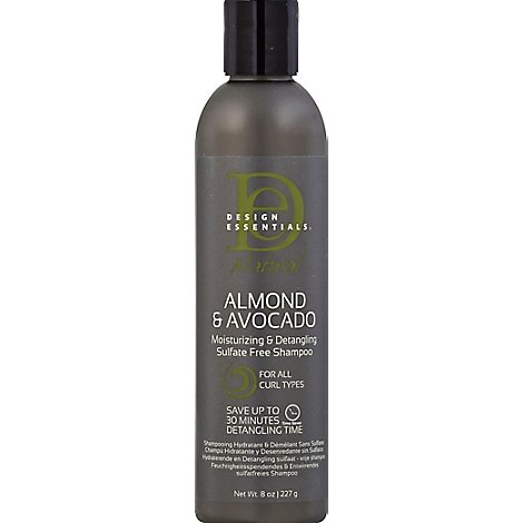 Design Ess Natural Almond Avacado Shampoo - 8 Oz
