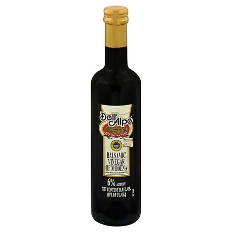 Dellalpe Balsamic Vinegar - 16.9 Fl. Oz.