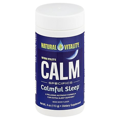 Natural V Calm Sleep Berry - 4 Z