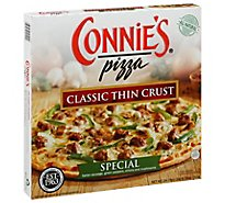 Connies Pizza Thin Crust Special 12 Inch Frozen - 24.79 Oz