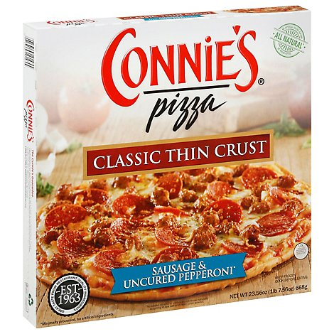 Connies Naturals Pizza Pepperoni Frozen - 23.6 Oz