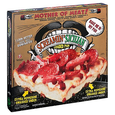 Screamin Sicilian Pizza Lp Frozen - 23.21 Oz