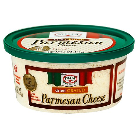 Stella Grated Parmesan Cheese - 5 Oz