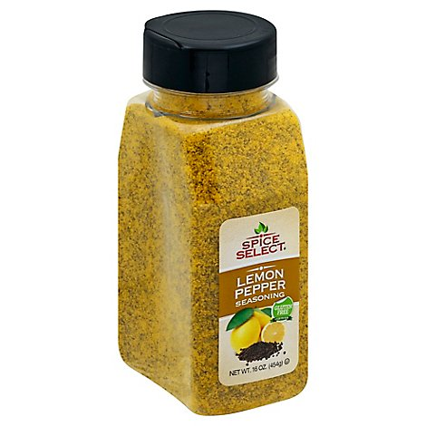 Spice Select Lemon Pepper - 16 Oz