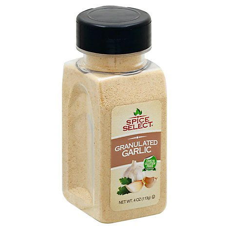 Spice Select Granulated Garlic - 4 Oz