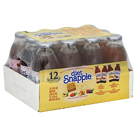 Snapple Cse - 12-16 Fl. Oz.