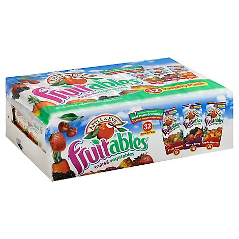 Apple & Eve Fruitables Variety Pack - 32-6.75 Fl. Oz.