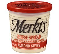 Merkts Swiss Almond Spreadable Cheese Cup 14oz