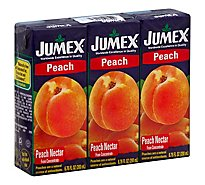 Jumex Mini Peach - 3 Count