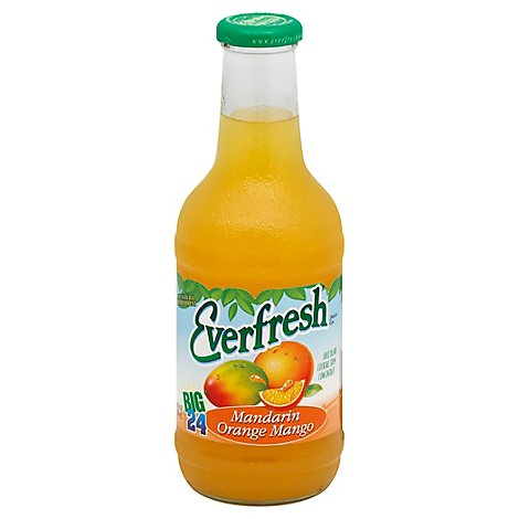 Everfresh Mandarin Orange Mango Juice, 24 Oz - 24 Oz