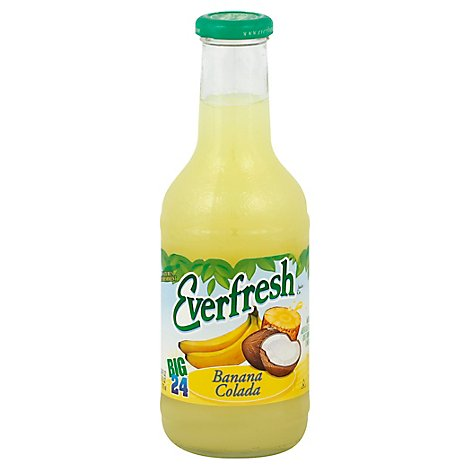 Everfresh Juice Drink Banana Colada - 24 Fl. Oz.