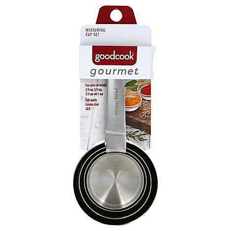 Good Cook Gourmet Measuring Cup S/4 - Each