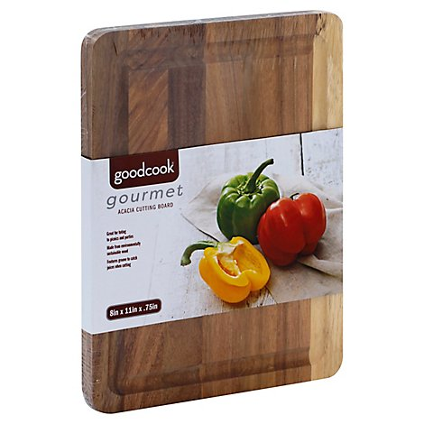 Good Cook Gourmet Acacia Small Cutting Bord - Each