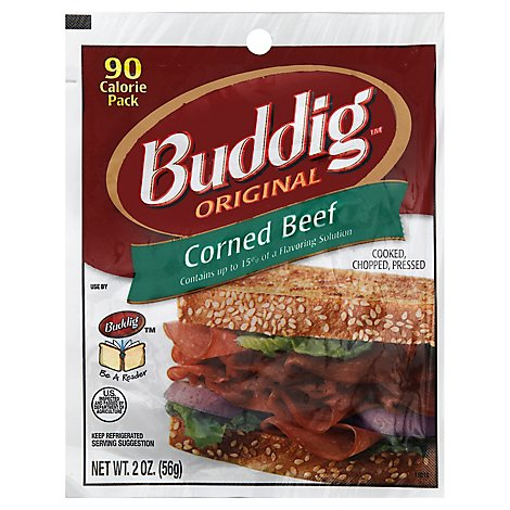 Carl Buddig Deli Corned Beef Original - 2 Oz