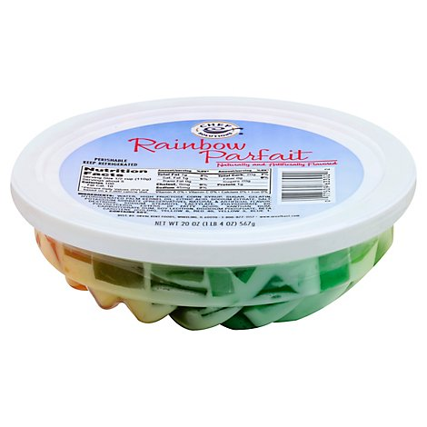 Chef Solutions Rainbow Parfait Ring - 20 Oz