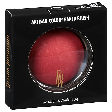 Black Radiance Blush Baked Warm Berry - Each