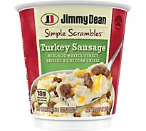 Jimmy Dean Simple Scrambles Turkey Sausage - 5.35 Ozz