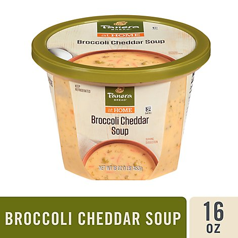 Panera Broccoli And Cheddar Soup - 16 Oz