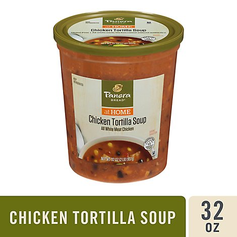Panera Chicken Tortilla Soup - 32 Oz