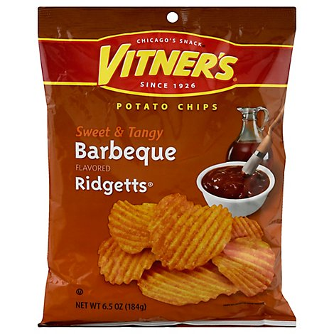Vitners Sweet & Tangy Barbeque Ridgetts - 6.5 Oz