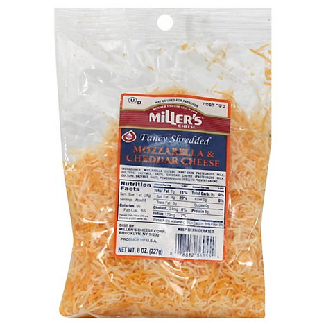 Millers Fancy Mozzarella Cheese - 8 Oz