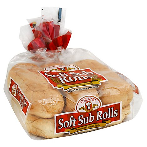 Turano Roll Sub Soft - 16 Oz
