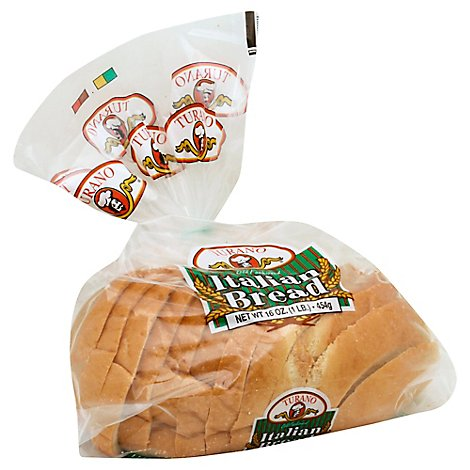 Turano  Bread Sliced Ready Italian - 16 Oz