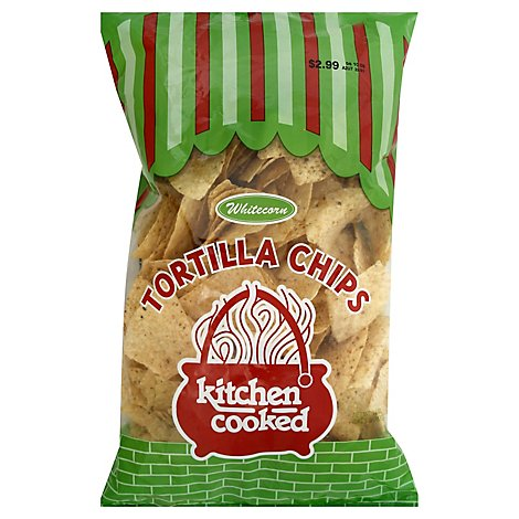 Kitchen Cooked White Tortilla Pie Chips - 14 Oz