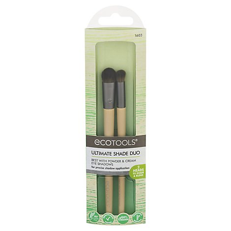 Ecotools Ultimate Shade Duo Brush Set - 2 Count