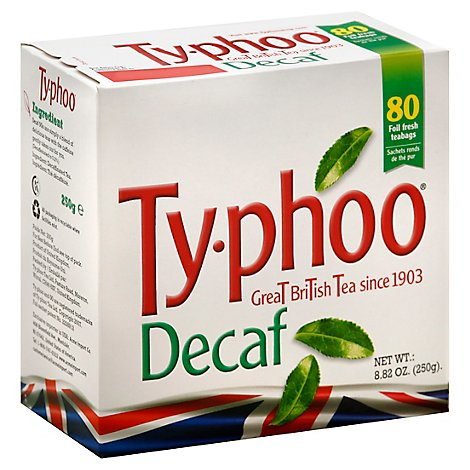 Typhoo Black Tea Decaf - 80 Oz