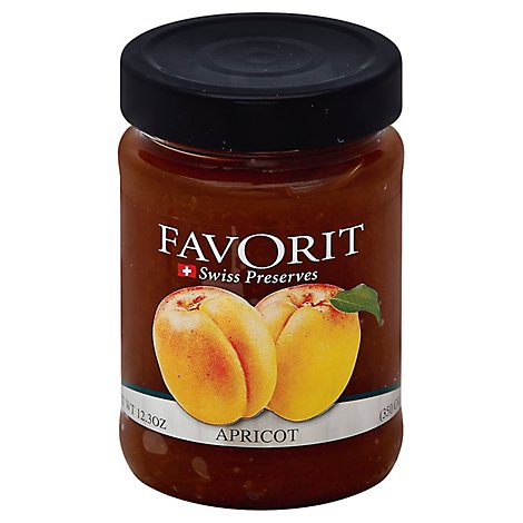 Favorit Preserve Apricot - 12.3 Oz