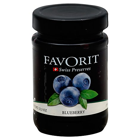 Favorite Blueberry Preserves - 12.3 Oz