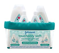 Johnsons Touchably Soft Newborn Gift Set - Each
