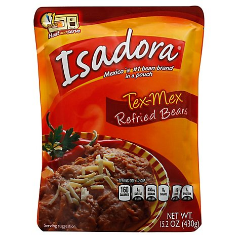 Isadora Tex-Mex Reried - 15.2 Oz