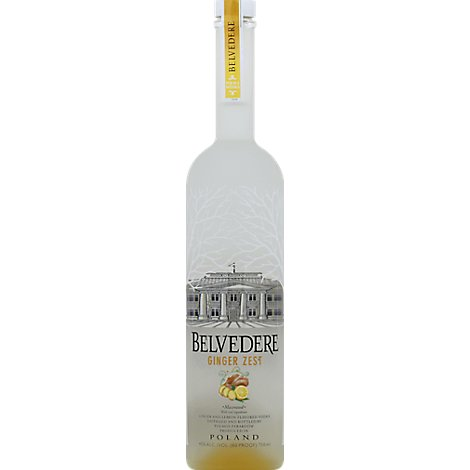 Belvedere Vodka Ginger Zest 80 Proof - 750 Ml